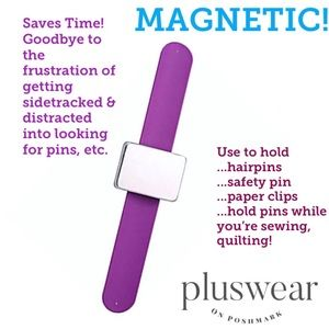 Jewelry - Handy Magnetic Wristband Purple